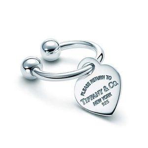 Tiffany & Co Heart Tag Key Ring
